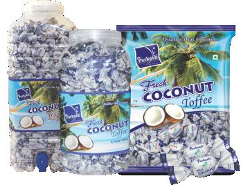 Fresh Coconut Toffee